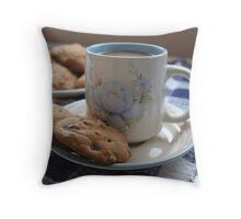 Grandma's Coffee Cookies (still life) Throw Pillow