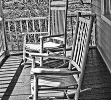 The Old Porch Rockers by Marcelene McCowan
