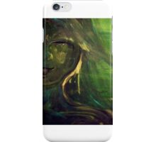 Girl in the forest iPhone Case/Skin