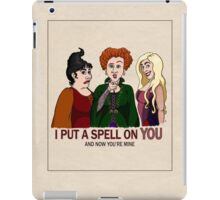 I Put A Spell On You iPad Case/Skin