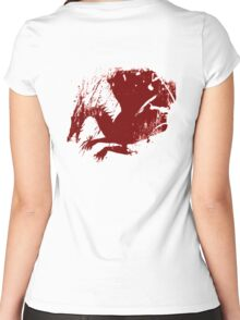 Dragon Grunge Women's Fitted Scoop T-Shirt