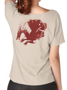 Dragon Grunge Women's Relaxed Fit T-Shirt