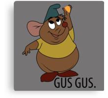 GUS GUS. Canvas Print