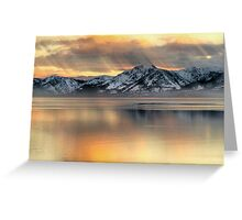 Tahoe Mood Greeting Card