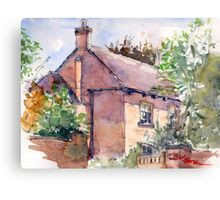 Old Rectory, Edgmond, Shropshire Canvas Print