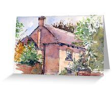 Old Rectory, Edgmond, Shropshire Greeting Card