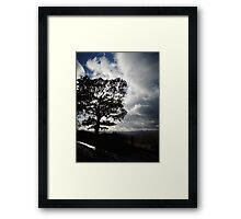 November Country Lane Framed Print
