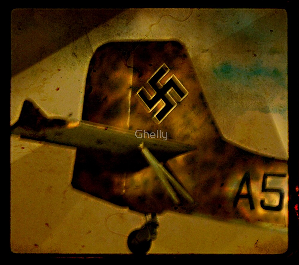 Captured Ju 87 Stuka by Ghelly