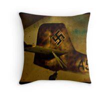 Captured Ju 87 Stuka Throw Pillow