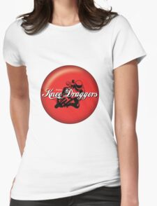 Enjoy... Knee Draggers Womens Fitted T-Shirt