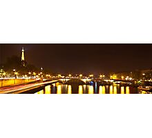 Eiffel Tower overview - panorama Photographic Print