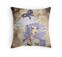 Where Is My Octopus? Throw Pillow