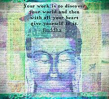 Buddha Discover Quote by goldenslipper