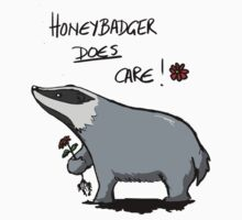 Honeybadger does care! Kids Tee