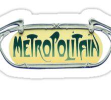 I Am Metropolitan Sticker