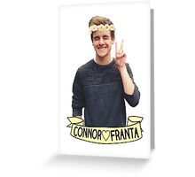 Connor Franta Greeting Card