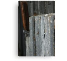 Rusty & Exposed Canvas Print