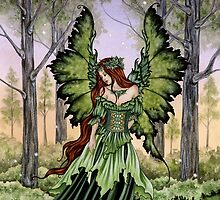 Lady of the Forest by AmyBrownArt