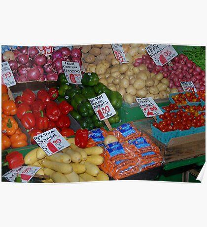 fruit market 2 Poster