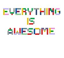 Everything is Awesome by seingalad