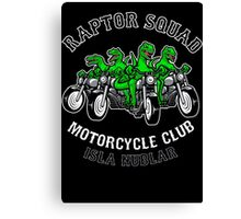 Raptor Squad Motorcycle Club Canvas Print