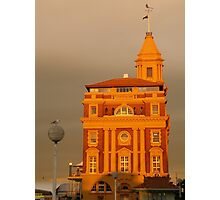 Auckland historic ferry buildings Photographic Print
