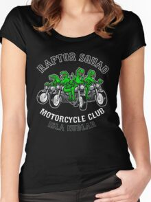 Raptor Squad Motorcycle Club Women's Fitted Scoop T-Shirt