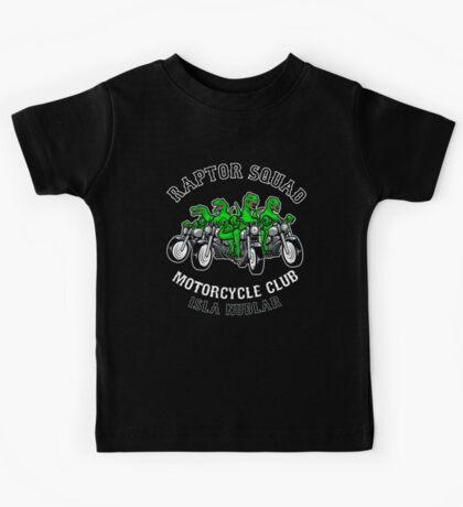 Raptor Squad Motorcycle Club Kids Tee
