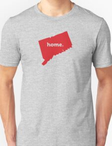 Connecticut Home Red T-Shirt