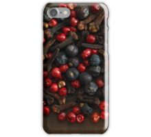 Spice Berries iPhone Case/Skin