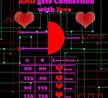 And gate connection with love by Nandika-Dutt
