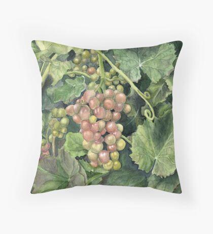 Winery Tour Throw Pillow
