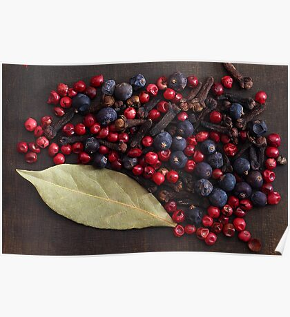 Spice Berries Poster