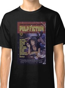 Pulp Fiction Poster Classic T-Shirt