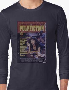 Pulp Fiction Poster Long Sleeve T-Shirt