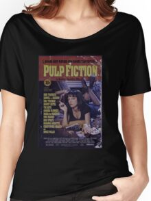 Pulp Fiction Poster Women's Relaxed Fit T-Shirt