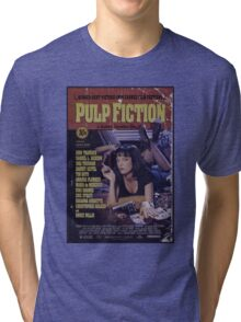 Pulp Fiction Poster Tri-blend T-Shirt
