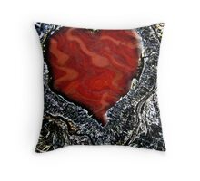 Belated Valentine Throw Pillow