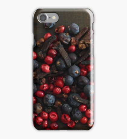Different spice berries  iPhone Case/Skin