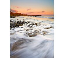 Sunset Tides Photographic Print