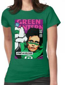 Post-Punk Super Friends - Green Womens Fitted T-Shirt