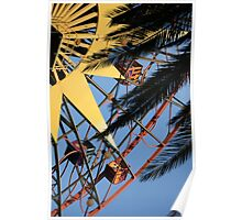 mickeys fun wheel - paradise pier  Poster