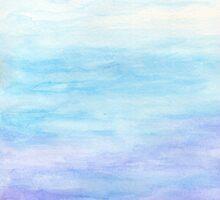 Evening Sky Over Alki Beach by Roz Abellera Art Gallery
