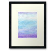 Evening Sky Over Alki Beach Framed Print
