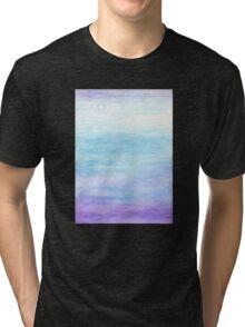 Evening Sky Over Alki Beach Tri-blend T-Shirt