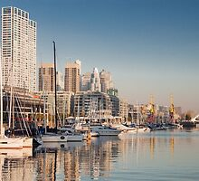 Puerto Madero - Buenos Aires (Argentine) by Mathieu Longvert