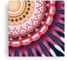 Blooming Flora ... Canvas Print
