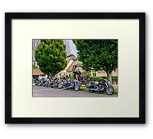 The Worlds End Framed Print