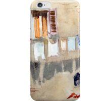The Washing Line. Volterra, Tuscany, Italy iPhone Case/Skin
