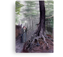 The One-eyed Wanderer Canvas Print